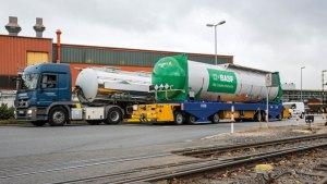 BASF Automated Guided Logistics Vehicle.