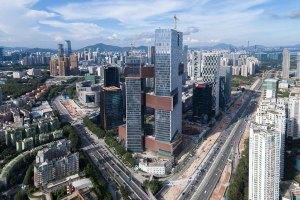 Tencent Tower in Shenzhen.
