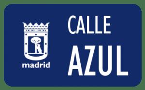 cartel_de_calle- -Azul_en_madrid