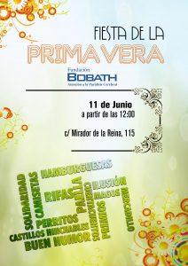 Cartel FIESTA DE LA PRIMAVERA 2016