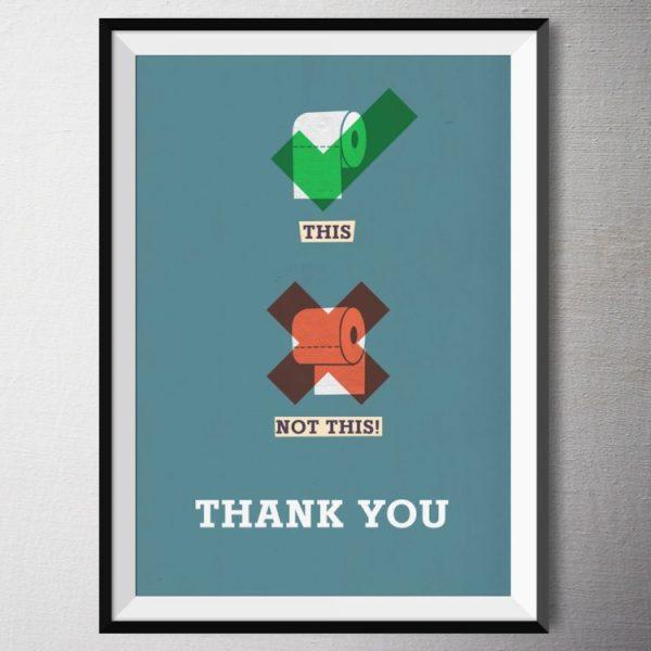 Fine Art Print - Toilet | Fünf vor Zehn