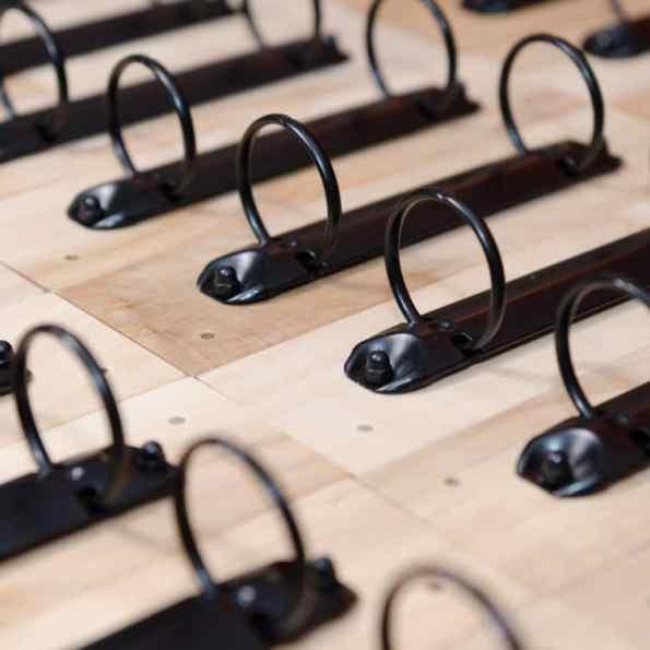 Kalenderhalterung Ringbuchmechanik Standard   Fünf vor Zehn