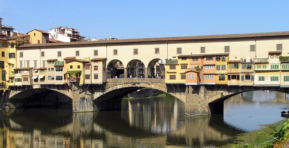 Resultado de imagen de l puente de Santa Trinità.