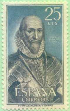 Selo em honra de Bazán