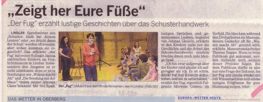 Bergische Landeszeitung 21 05 2012