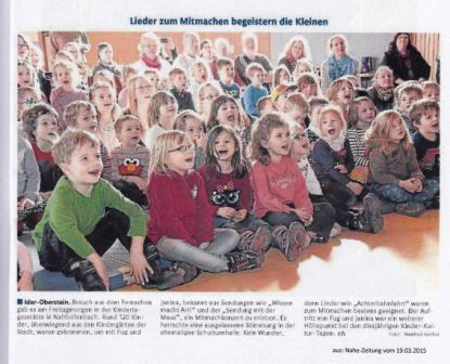 Nahe Zeitung 2015