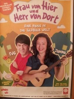 Plakat Theaterstück