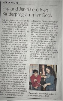 Bergische Landeszeitung 2018