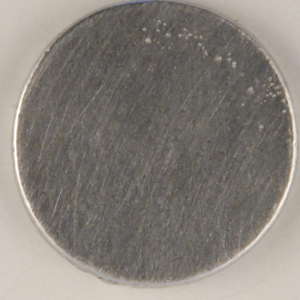 130 L pewter button