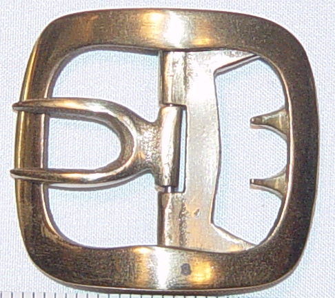 Colonial Brass Buckle, Military #1