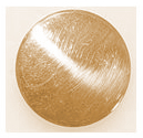 Brass Low Dome Button 7/8ths