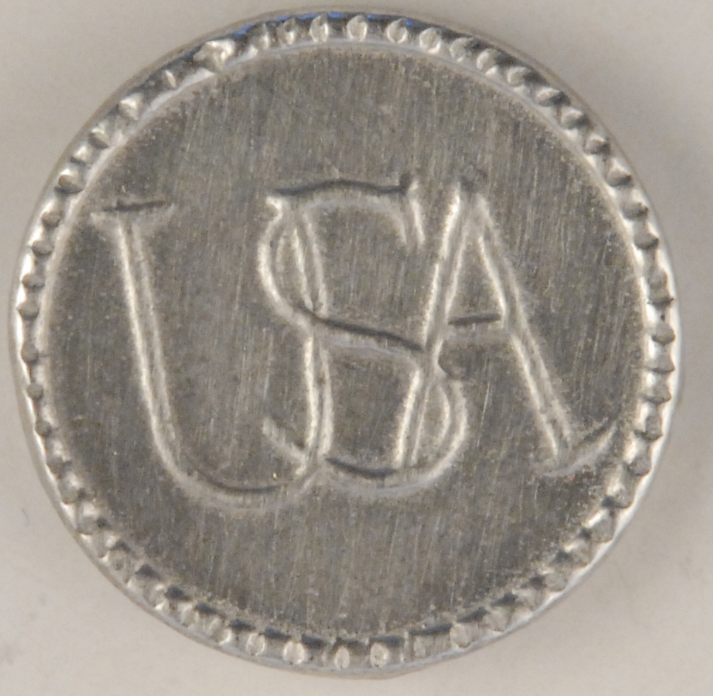 USA Continental Army Pewter Button