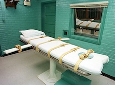 Death penalty bed