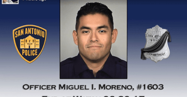Texas Officer Killed