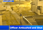 Los Angeles Police Officer Ambushed