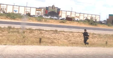 Police Officer on Active Shooter Scene