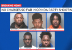 DA Dropped Charges Against 5 Arrested for Orinda Mass Shooting