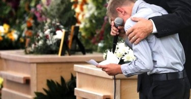 LaBaron family funeral