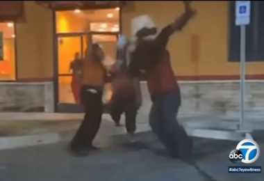 Popeyes Employee Allegedly Body Slams a Woman Caught on Camera