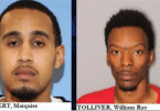 Marquise Tolbert and William Ray Tolliver Wanted