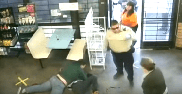Alleged kidnapping suspect tackled by teen wrestler