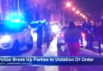 Police Breaking Up Parties Violating Illinois' Stay-at-Home Order