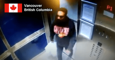 Man Allegedly Spits on Elevator Buttons Caught on Camera