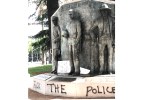 California Peace Officer Memorial Vandalized