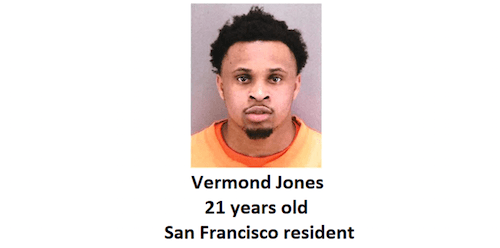 ID #20-163 Vermond Jones Wanted