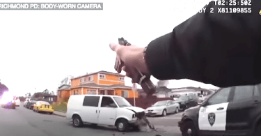 6 Police Officers Shoot Murder Suspect Caught on Camera