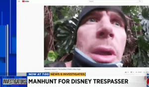 Manhunt for Walt Disney World Trespasser