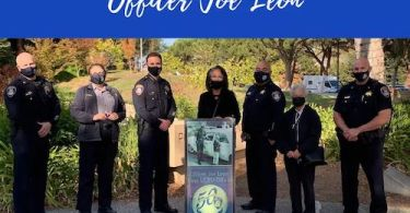 UCPD Presents the Daughter of UCPD's First Officer Anniversary Banner