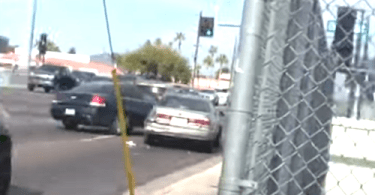 Driver arrested after allegedly hitting man with car during road rage incident in Phoenix