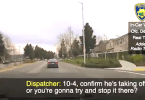 Dashcam footage of a pursuit of teen suspects linked to a home invasion robbery Fremont PD