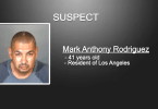 Suspect Mark Anthony Rodriguez