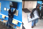 ID #21-150 Alleged suspect in theft of TV from children's hospital
