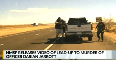 New Mexico State Police Release Video of Murder of Officer Darian Jarrott