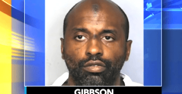Suspect Keith Gibson