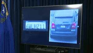 Suspect vehicle license 6WLH211