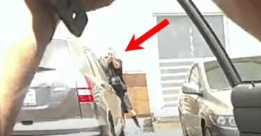Screen capture from LAPD video.