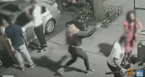 ID #21-342 Screen capture of alleged suspect and victim. Credit NYPD
