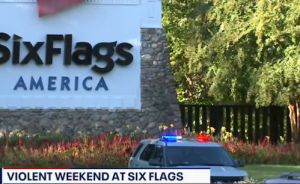Heavy police presence at Six Flags parks