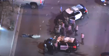 L.A. Deputy Shot in Ambush by Armed Robbers Caught on Camera