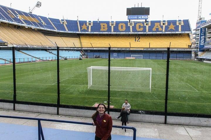 La Bombonera em Buenos Aires - O que fazer em Buenos Aires - Roteiro de 3 dias em Buenos Aires