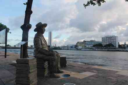 Recife, Cais da Alfândega. Circuito da Poesia