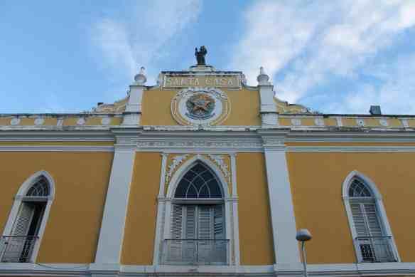Recife, fachada do Paço Alfândega