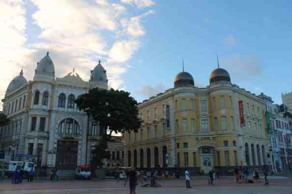 Recife, Praça do Marco Zero