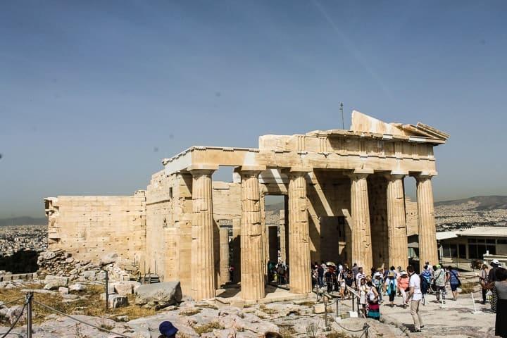 Entrada da Acrópole de Atenas