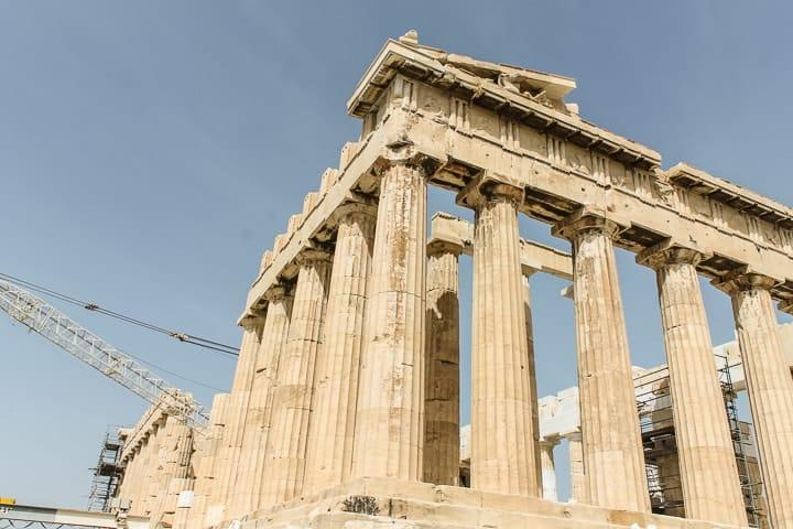Partenon - Acrópole de Atenas