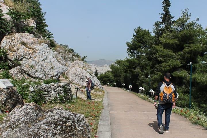 Peripatos - Acrópole de Atenas